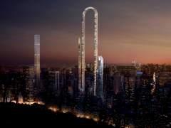 Así es el Big Bend, un edificio en forma de 'U' invertida en Nueva York
