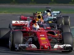 Ferrari ha vuelto: Vettel tumba a Hamilton y gana el GP de Australia