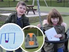 """La carta de una niña sobre su gemelo con autismo: """"¿Por qué se olvidan de él?"""""""