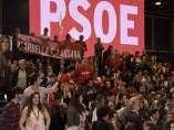 Asistentes al acto de presentación de la candidatura de Susana Díaz