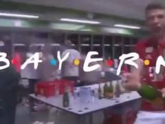 El vídeo del Bayern con la cabecera de la mítica serie 'Friends'