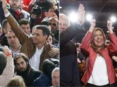 Candidatura de Susana Díaz y acto de Pedro Sánchez | Directo