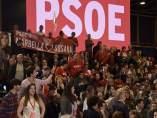 Los socialistas han arropado a Susana Díaz en Madrid