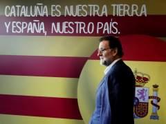 """Rajoy reitera """"hasta la saciedad"""" el no adelanto de elecciones y la ilegalidad del referéndum catalán"""