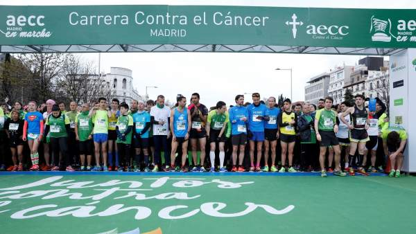 IV Carrera Madrid En Marcha Contra El Cáncer