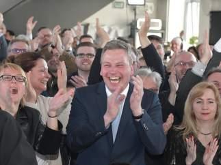 El vicepresidente de Unión Demócrata Cristiana (CDU), Peter Strobel