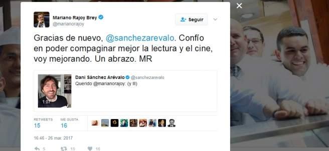 Rajoy y Sánchez Arévalo.