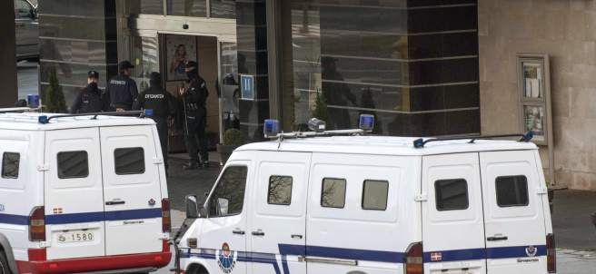 Disturbios en un hotel de Barakaldo