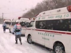 Ocho adolescentes muertos por una avalancha de nieve en Japón