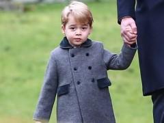 El príncipe George comienza la escuela primaria