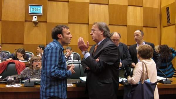 Pablo Muñoz y  Carlos Pérez.