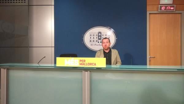Davil Abril en rueda de prensa