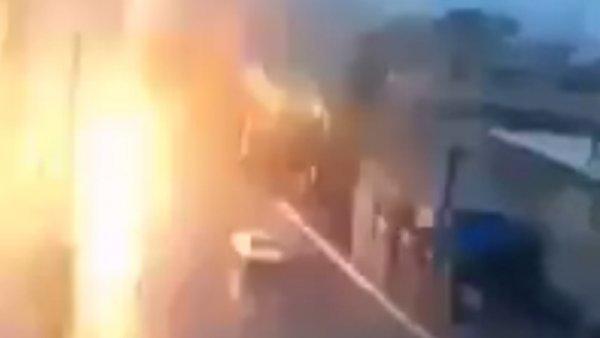 Un rayo impacta de lleno en un coche en Marruecos