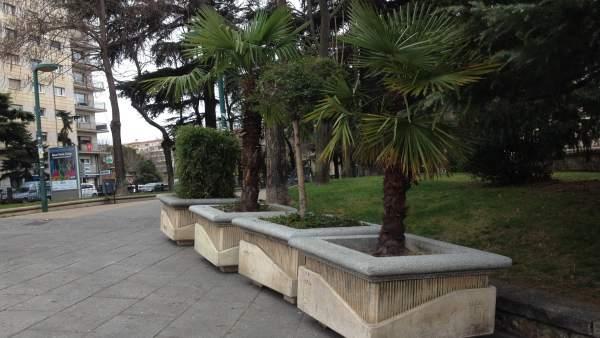 Salamanca: Maceteros preventivos que se instalarán en las procesiones