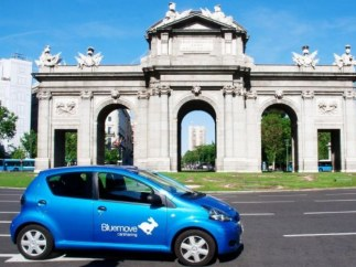 Empresa de carsharing Bluemove