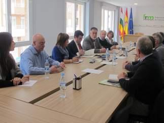 Imagen del encuentro en la FRM