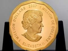 Moneda de oro de un millón de dólares