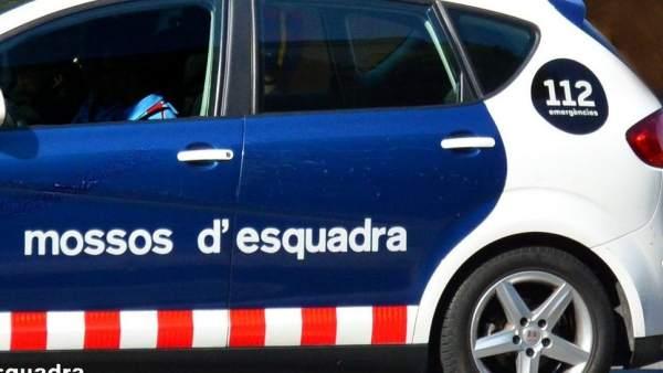 Un coche patrulla de Mossos d'Esquadra.