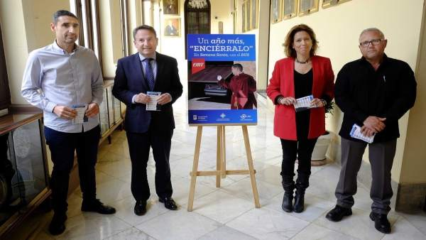 Presentación del Servicio de la EMT para Semana Santa. Elvira Maeso