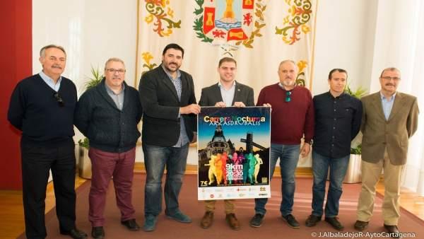 Presentación de la carrera solidaria 'Arx Asdrubalis'