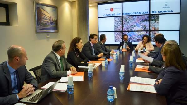 Foto / Reunión Del Comité Directivo De La Zal De Murci A