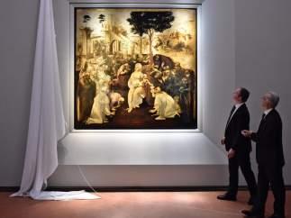 'Adoración de los Reyes Magos', de Leonardo da Vinci.