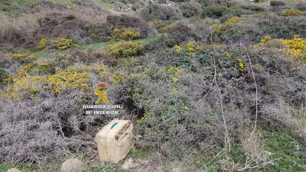 Un detenido y más de 300 kilos de hachís intervenidos en Tarifa