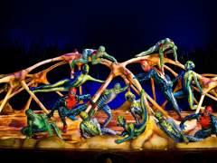 Un momento del espectáculo 'Totem' de Cirque du Soleil.