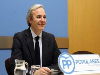 Azcón ha presentado una moción del PP en defensa de la escuela concertada