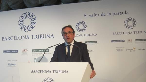 El conseller Josep Rull.
