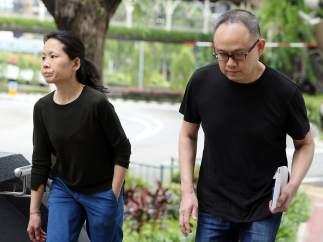 Pareja condenada en Singapur