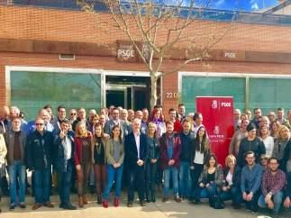 Grupo de apoyo a Susana Díaz en el PSOE de Granada