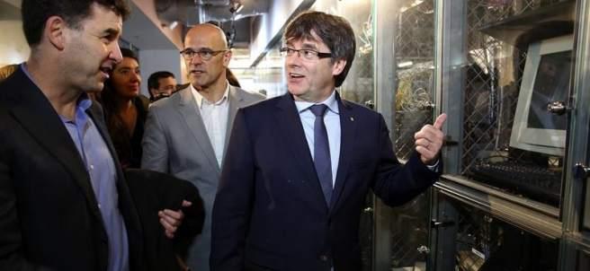 Carles Puigdemont en EE UU.