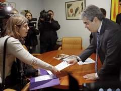 Nacionalistas y Podemos abandonan el Congreso en solidaridad con Homs