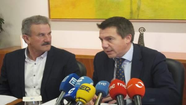 Ramón Álvarez y José Luis Almeida