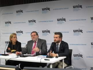 Presentación datos de empleo de UNIR-Universia