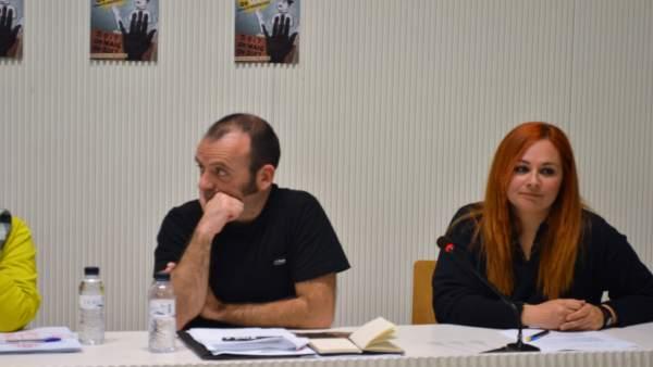 Oriol Ferré y Elisabet Vallvé, codirectores de la Fira de Titelles de Lleida