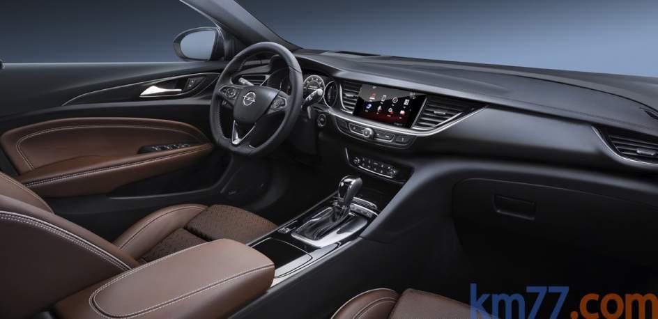Aspecto interior del Opel Insignia