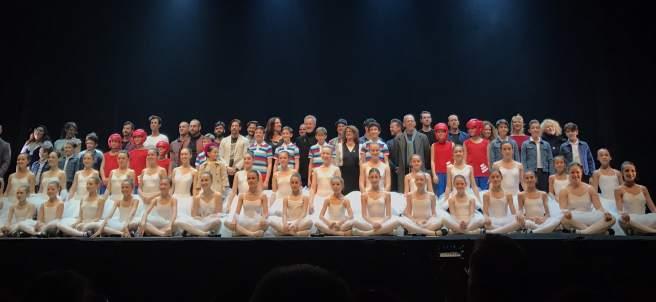 Elenco de 'Billy Elliot'