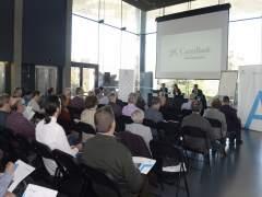 Jornada con accionistas de  CaixaBank en Zaragoza