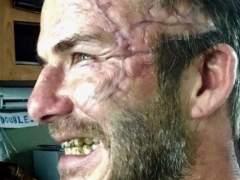 David Beckham, irreconocible en la nueva película de Guy Ritchie