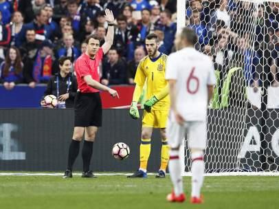 Gol anulado a Francia ante España
