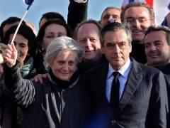 La esposa de Fillon, imputada por los empleos falsos