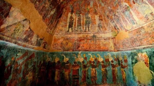 Templo de las Pinturas, México