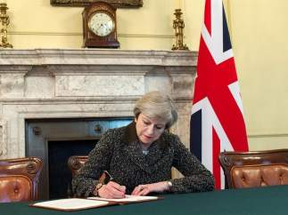Theresa May activa el 'brexit'
