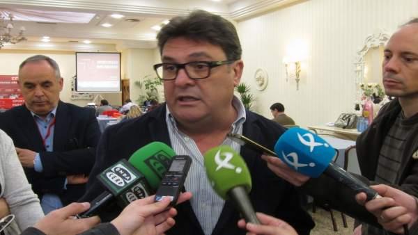 Secretario general CCOO Extremadura, Julián Carretero