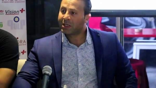 El director de cine tunecino Karim Belhadj