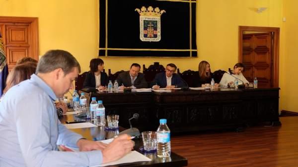 Pleno del Ayuntamiento de Tarazona