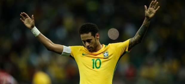 Neymar, Marcelo y Coutinho, entre los 15 fijos de Brasil para el Mundial