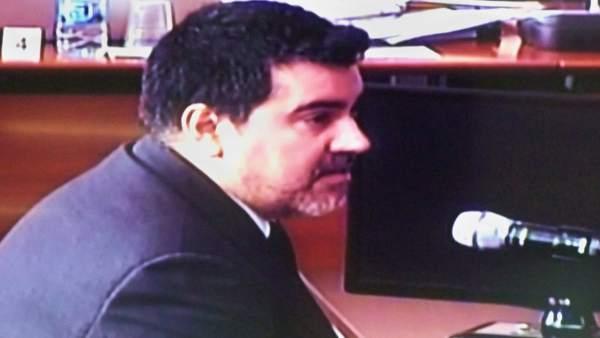 David Regalado, uno de los contables del Palau de la Música